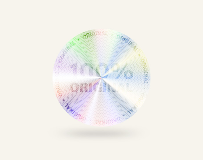 Holographic and security labels